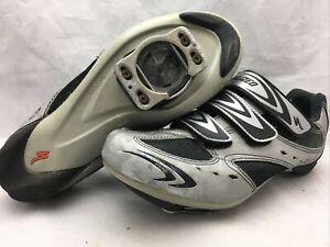 Women's Specialized BG Cycling Shoes 6104-4141 Silver Black EU 41 US 8
