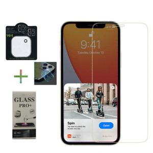 💥 2 x SchutzGlas Folie für iPhone 12 Series +Kamera Echt Glas 9H Transparent 💥