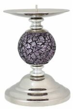 Mosaic Candlestick Pillar Candle & Tea Light Holders