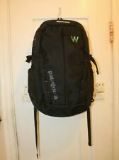 PATAGONIA Refugio 28L Backpack Black NWOT Workframe Logo