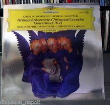 Christmas Concertos: Corelli, Manfredini, Torelli, Locatelli / Karajan LP DGG