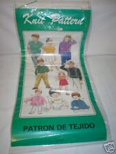 Kr7 patterns-knitmaster/empisal/silver máquina de tejer
