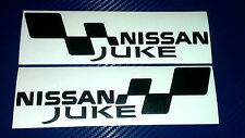 2x Nissan Juke Flag Set Voiture/Van/Fenêtre JDM VW VAG EURO Vinyl Decal Sticker