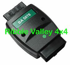 BA 5076 LANDROVER HAWKEYE DIAGNOSTIC FAULT CODE GREEN DONGLE CABLE LEAD ADAPTOR