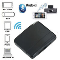 Wireless Bluetooth Music Audio Receiver Adapter For 30pin iPod Dock Speaker