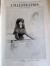 Mme STEINHEIL PROCES INTERROGATOIRE SC 2032 ILLUSTRATION ANCIENNE