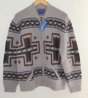 NEW Pendleton MENS Sz M Indian Blanket Southwest Knit Cardigan Sweater Jacket