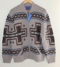 NEW Pendleton MENS Sz M Indian Blanket Southwest Knit Cardigan Sweater Jacket