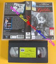 VHS film GILDA Rita Hayworth Glenn Ford Charles Vidor COLUMBIA (F130) no dvd