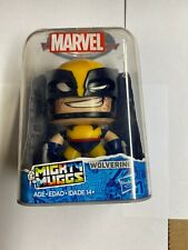 "*** Marvel - Mighty Muggs - Wolverine #17 with 3 Facial Expressions 3.75"" ***"