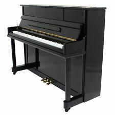 "Steinhoven SU112 Upright Piano, Polished Ebony (112cm, 44"")"