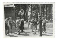 Foto, MTV Braunschweig, Harzfahrt nach Oderbrück, 1956