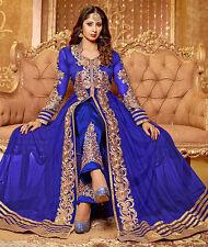 New Indian Pakistani Ethnic Anarkali Salwar Kameez Designer Suit  Party Wear