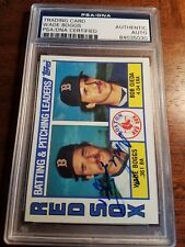 1984 Topps Wade Boggs Autographed Baseball Card #786 PSA/DNA (AYC)