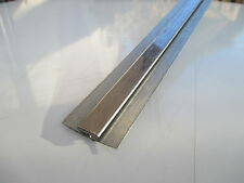 stainless steel wall cladding sheet divider bar/ jointing strip minimum order 2