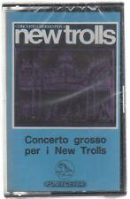 NEW TROLLS CONCERTO GROSSO PER I MC K7 MUSICASSETTA SIGILLATA!!!