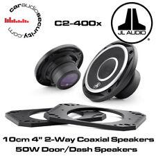 "JL Audio c2-400x - 10cm 4"" 2-way ALTOPARLANTI COASSIALI 50 Watt Altoparlanti Porta/Dash"