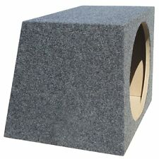 "BOX VUOTO CASSA VUOTA X SUB SUBWOOFER 30,00 CM 300 MM 12"" DI FORMA TRAPEZOIDALE"