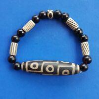 tibetan-prayer-worry-dzi-bead-old-agate-9-eyes-amulet-gzi-antique-tibet   C8