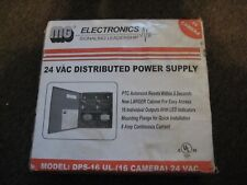 MG DPS-16UL 16 Camera Power Supply 24 VAC Distributed Power Supply