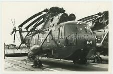 US Navy Sikorsky SH-3A Sea King Helicopter Photo, HE715