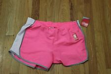 DANSKIN NOW RUNNING SHORTS SIZE M(8-10) LOOSE HIDDEN POCKET  PINK  NEW WITH TAGS