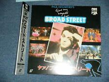 PAUL McCARTNEY BEATLES Japan 1987 Laser Disc+Obi GIVE MY REGARDS TO BROAD STREET