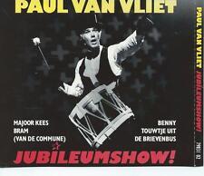 DUBBEL / 2 CD album PAUL VAN VLIET - JUBILEUMSHOW - MAJOOR KEES - BRAM COMMUNE