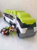 Paw Patrol Jungle Patroller Truck Bus - Jungle Rescue Hauler With Ryder ATV  HTF
