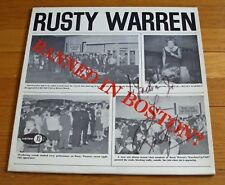 Rusty Warren 1963 Jubilee LP Banned In Boston?  with SIGNED Cover