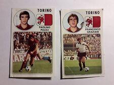 PULICI E GRAZIANI TORINO Figurine vintage Album Calciatori Panini 1976/77 rec.