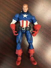 Marvel Legends Face Off Avengers Captain America Unmasked Variant