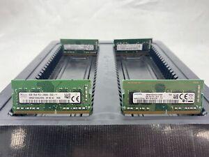 LOT 4 HYNIX SAMSUNG KINGSTON 4GB DDR4 PC4-2666V 21300 NON ECC SO-DIMM MEMORY RAM