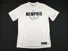 NEW Nike Memphis Grizzlies - White Poly Short Sleeve Shirt (2XLT)