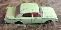 Vintage Lesney Matchbox Series Number 45  England Made Ford Corsair Light Green