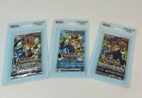3 Yugioh Legend Of Blue Eyes White Dragon, Metal Raiders, Invasion Booster Packs
