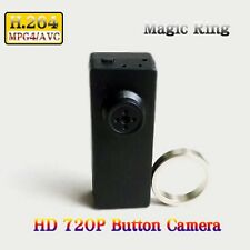 Low Light H.264 720p Hd Mini Dvr Spy Button Camera With Magic Ring Controller