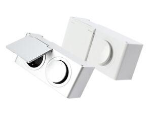 Kombi-Box Energiebox für Schrank Powerbox 230V Steckdose mit Schalter #HRS-M6-M7