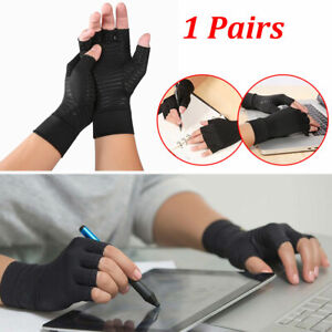 Anti-arthritis Gloves Hand Wrist Support For Fingers Compression Pain Relief New