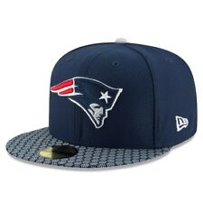 New England Patriots New Era 59 Fifty NFL Sideline Fitted Hat Cap 7 1/2