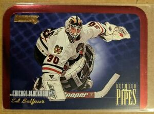 1995-96 Donruss Between the Pipes - Ed Belfour #10