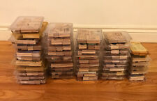 Large Lot of Stampin Up! Stamps 45 Sets 296 Total Stamps