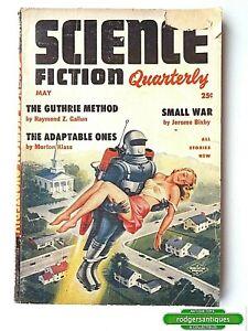 SCIENCE FICTION QUARTERLY Vol.3 #1 May 1954 U.S. Standard Pulp Magazine