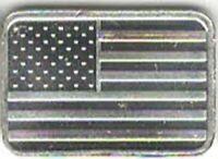 American Flag - 1 GRAM Silver Bar 1 GR  .999 Fine Pure Solid Bullion Bar