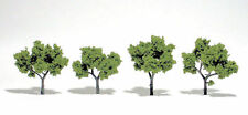 "Woodland Scenics Ready Made Realistic Trees - Light Green (4Pk) 2""-4"""