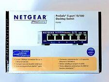 NETGEAR  ProSafe (FS105) 5-Ports 10/100 External Ethernet Switch