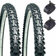 RALEIGH CROSS LIFE 26 x 1.90 HYBRID BIKE CYCLE TREKKING TYRES /& TUBES UK STOCK