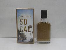 SOCAL by HOLLISTER 1.7 oz (50ml) EAU DE COLOGNE SPRAY MEN NEW IN BOX SEALED