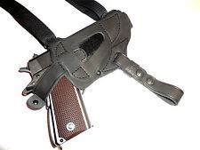 Shoulder gun holster fit TT Tokarev,  100% genuine leather  129-2