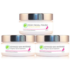 2 x Skin Whitening & Lightening Bleaching Cream + Facial Scrub